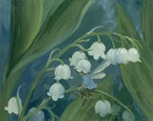 Lily of the Valley 8.5x11 Print