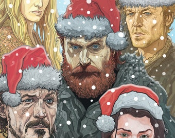 GAME of THRONES Christmas Card Nights King version