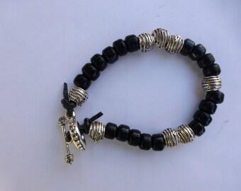 NEW LISTING!  Men's Beaded Bracelet