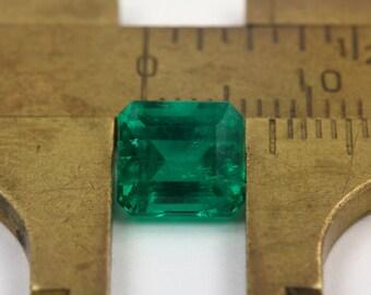 1.98ct AAA+ Rich Muzo Green Emerald, Colombian Emerald, Loose Colombian Emerald, Columbian Emerald, Emerald, Emerald Cut Emerald
