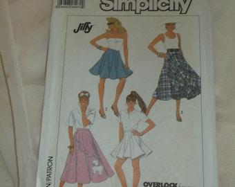 Simplicity 8629, Size 10-12-14, 1988