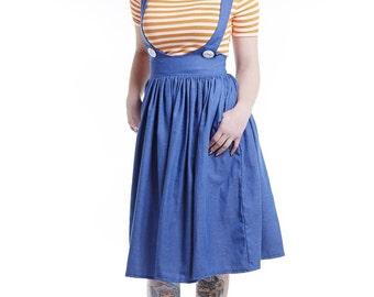 Betty Blue Pinafore