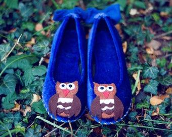 Owl toe pumps