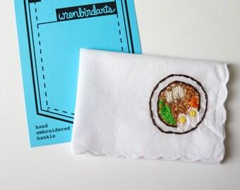 Ramen Gift Ramen Patch Food Embroidery Funny Cross Stitch Ramen Love