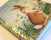 Blank Art Journal from Little Golden Book Home for a Bunny Watercolor Paper
