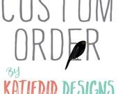 Custom order for Lauren- Design and print