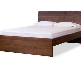 Oswego Bed in Walnut