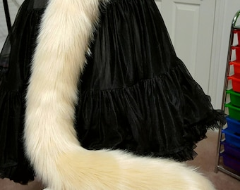 Champagne Tan Kitty Tail