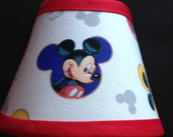 Disney Mickey Mouse Fabric Children's Night Light