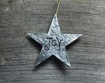 Star ornament - Joy