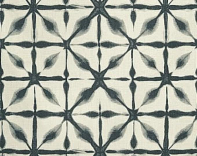 Schumacher Andromeda  Pillow Cover - Charcoal