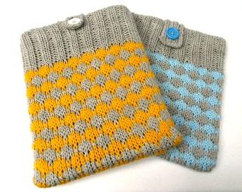 "Diamond knitted iPad case for iPad 2, iPad 3 and iPad 4 and the Kindle Fire HD 8.9"""