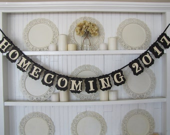 HOMECOMING 2017 Banner, High School Homecoming Dance, Homecoming Decoration, College Homecoming, Homecoming Photo Prop