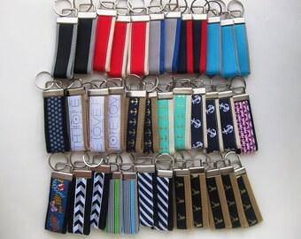 25 KEY FOBS Bulk- Wristlet Keychain Holder- Womens Key Ring- Key Lanyard- Wrist Key Fob- Wrist Key Chain- Womens Gift for Her- Gift Under 10