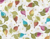 """ON SALE Fabric Remnant, Soiree, Moda Fabric, Lila Tueller, Floral, 9"""""""