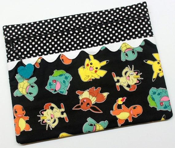 Pokemon Cross Stitch Embroidery Project Bag