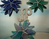 Starfish stained glass suncatcher/beach decor/by the shore/by the sea/seashore decor/beachy christmas tree ornaments