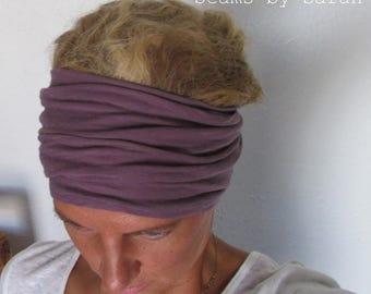Yoga Head Wrap/ Turban Style // Skinny scarf/// Long head-wrap