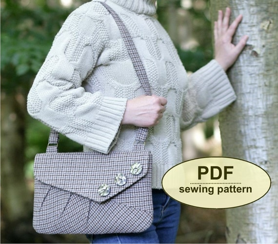 New: Sewing pattern to make the Felbrigg Bag - PDF pattern INSTANT DOWNLOAD