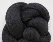 Charcoal Slate Recycled Fine Merino Lace Weight Yarn, MER00258