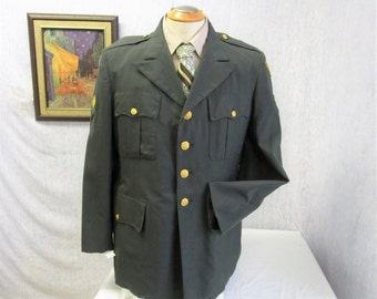 1963 42R Brave Rifles US Military Dress Uniform Jacket
