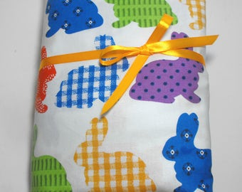Toddler Sheet Set, Bunnies, 2-Piece, Fitted Sheet and Pillow Case