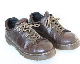 Vintage Brown Dr. Martens Men's Size 12