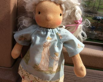 Waldorf doll clothes, mother & child, teeny tiny