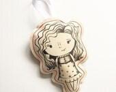 Pocket Doll Christmas Ornament