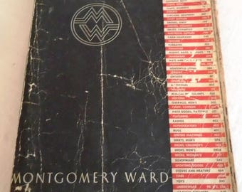 Vintage 1930s Catalog 1936-37 Fall and Winter Montgomery Ward Catalog