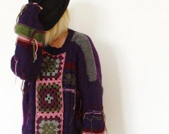 Bohemian Sweater.