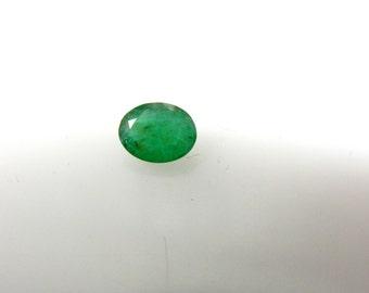 Natural Emerald-Gemstone-Cut-Stone Zambian Emerald Cut Stone Oval AAA Quality Size 8x10MM Pair 2.35ct 100% Natural