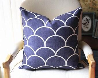 Blue Ikat Pillow - Yellow Ikat pillow - Blue Pillow - Yellow Pillow - Designer Pillow - Decorative Pillow - Throw Pillow 442