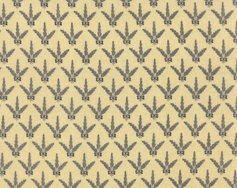 Sturbridge by Kathy Schmitz - Fern Spray Cream w/Navy - Moda 6077 15
