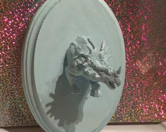 Faux Taxidermy - Blue Dinosaur