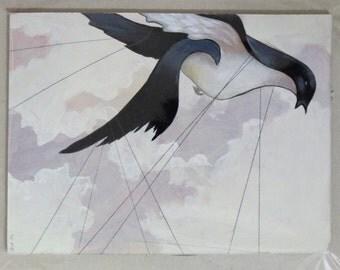 Freedom limited (postcard size-original artwork)