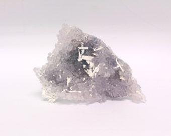 Rose Amethyst Crystals, Brazil