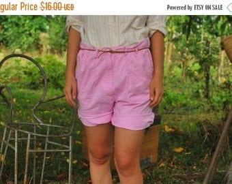 SALE Vintage80s Pink Shorts VINTAGE 80's women shorts