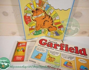 Vintage 1970s Garfield Board Game by Parker Brothers