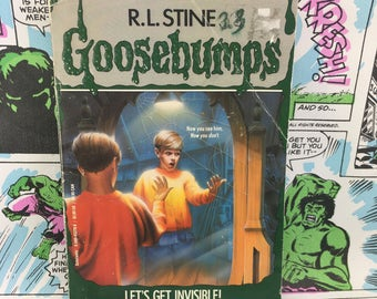 Goosebumps #6 - Let's Get Invisible - R.L. Stine - Young Adults