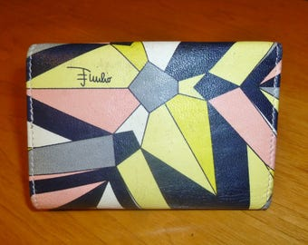 Vintage Emilio Pucci Leather Key Wallet