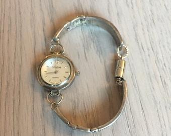 Vintage Silverware Bracelet Watch