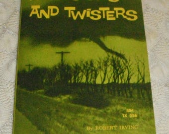 Hurricanes and Twisters by Robert Irving vintage softcover Scholastic Book