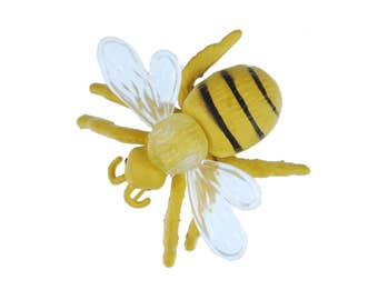 Bee Brooch pin Bee Button Miniblings honey bee insect honey beekeepers