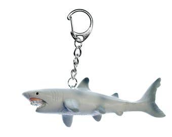 Hai Schlüsselanhänger Miniblings Anhänger Schlüsselring Weißer Hai Haifisch