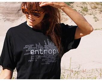 Entropy T-Shirt - Grey or Black