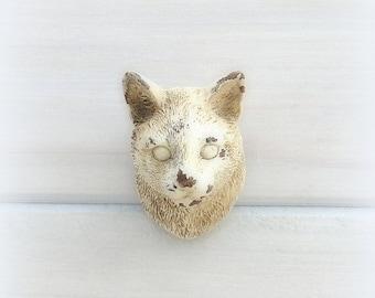 Cat Drawer Pull Knob Cabinet Knob Dresser Knob Rustic