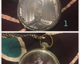 Small Pocket Watch Pendants