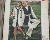 60off Sale Vintage Butterick Home Catalog Pattern Book Magazine Spring 1970 70s 1970s catalog