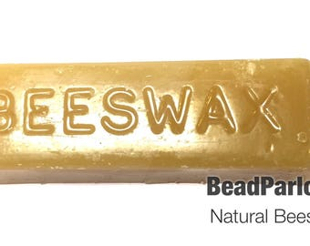 Natural Beeswax, 1 oz bar